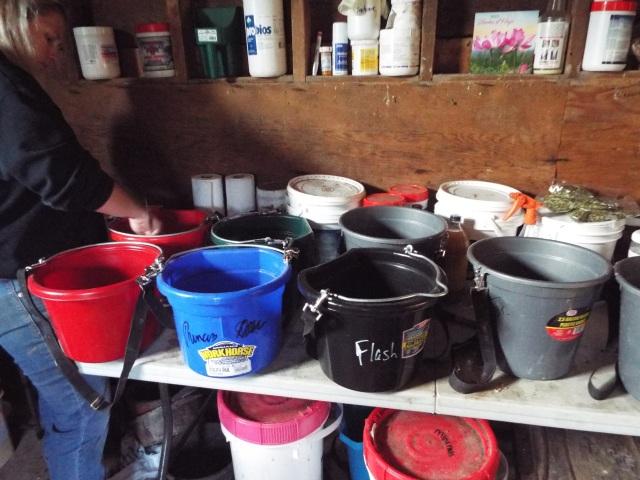 feed buckets 2